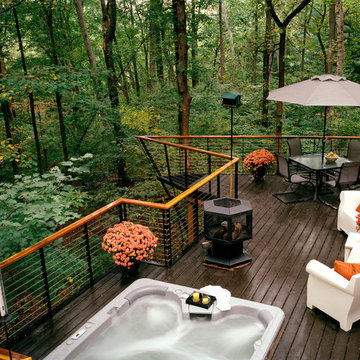 Deck in the Woods