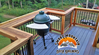 Deck Railing with Bar top Perfect for cooking