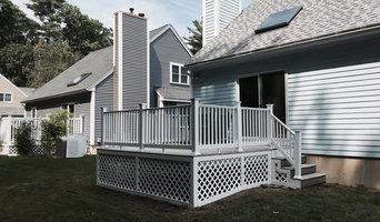 Deck Rehab:  Vinyl railing systems and lattice work