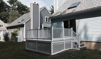 Deck Rehab:  Vinyl railing systems and lattice work