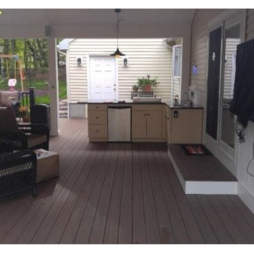 Deck Remodel with hot tub - Douglas MA