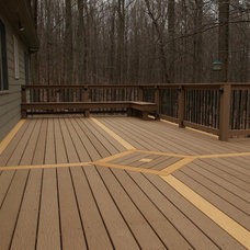 Traditional Deck by Ivy League Construction