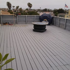 Roof Top Deck Traditional Deck Chicago By Mb