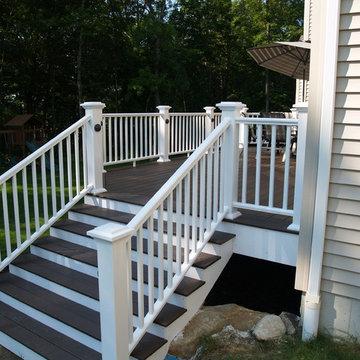 Deck upgrade with huge slider
