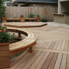 Traditional Deck by Wood Crafters of Texas - Patio Covers