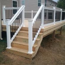exterior decks and railings