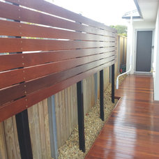 Modern Deck by Campbell Builders