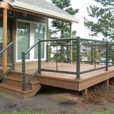 Craftsman Deck by Cascade Fence and Deck