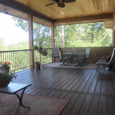 Traditional Deck by Casco Construction Corp.