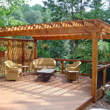 Traditional Deck by Decksouth