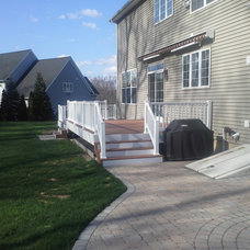 Traditional Deck by J. Reynolds Builders