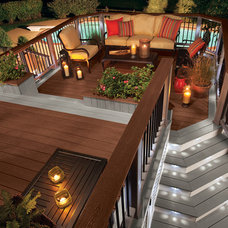 Traditional Deck by Kelly-Fradet Lumber