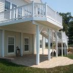 Decks Traditional Deck By Apollo Enterprises Inc