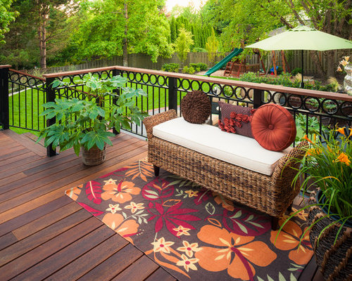 Iron Deck Railing Ideas Pictures Remodel And Decor