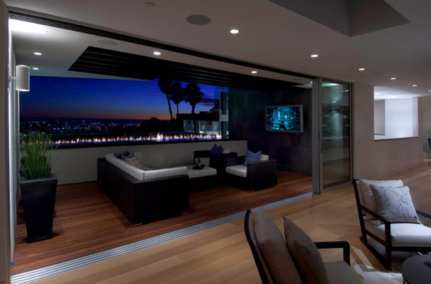 Modern Deck by Bowery Design Group