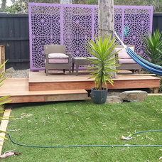 Eclectic Deck by Greenwedge Landscapes
