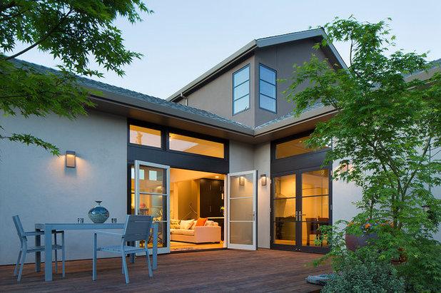 Transitional Deck by Amy A. Alper, Architect