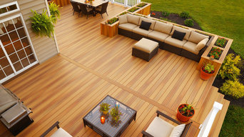 DuraLife Composite Decking in Golden Teak