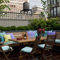 Transitional Deck by Fawn Galli Interiors