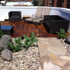 Contemporary Deck by Christian Duvernois Landscape/Gallery