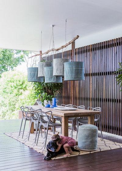 Contemporain Terrasse en Bois by Penman Brown Interior Design