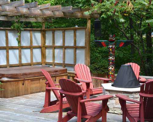screened porch with hot tub photos - Hot Tub Design Ideas