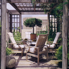 Rustic Deck Eclectic Patio