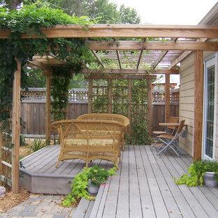 Kleine Rustikale Terrasse Ideen Design Bilder Houzz