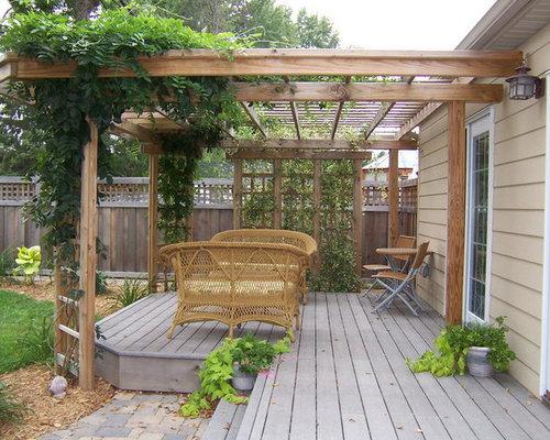 Ideas para terrazas dise os de terrazas r sticas con p rgola for Ideas para terrazas rusticas