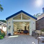 Turnaround House Contemporary Patio Melbourne By