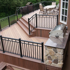Traditional Deck by Deck Remodelers.com