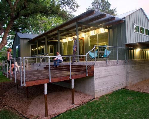 Galvanized Pipe Rail Home Design Ideas Pictures Remodel