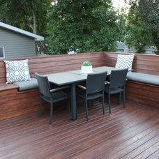 Modern Deck Elphinstone Backyard Project