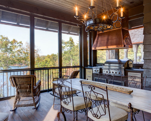 Grilling Porch Houzz