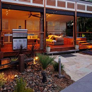 Inspiration for a zen deck remodel in Dallas