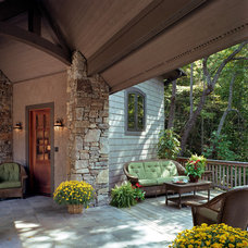 Traditional Deck by Mark Sinsky Architect, PA