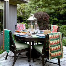 Traditional Deck by Bardes Interiors