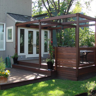 Exotic Decking, Stairs, and Privacy Screen