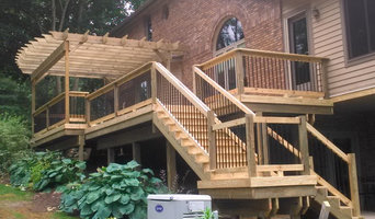 Expansive Wood with Pergola
