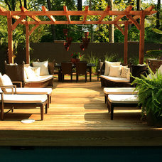 Tropical Deck by Bliss Design Firm
