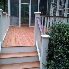 Farmhouse Deck by CertaPro Painters of Lexington/Concord MA