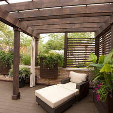 Traditional Deck by Stonebridge Development Group