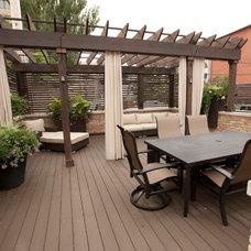 Traditional Deck by Stonebridge Development Group
