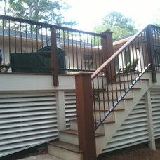 Traditional Deck by Womack Iron