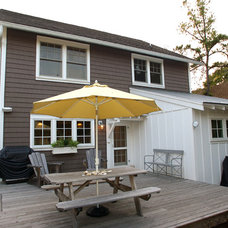 Traditional Deck by Burton Builders