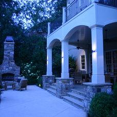 Traditional Deck by Bennett Design & Landscape