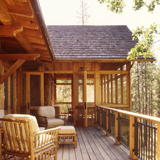 Rustic Deck by Tucker & Marks