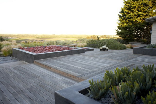 Asian Deck by Jeffrey Gordon Smith Landscape Architecture