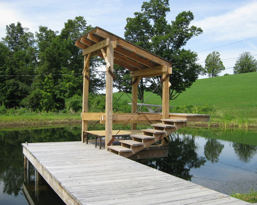 Boat Dock Design Ideas Lake Boat Docks Designs Country Deck Photo In