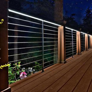 Immagine di terrazze e balconi minimalisti